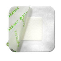 "Alldress Absorbent Film Composite Dressing 6"" x 6"", 4"" x 4"" Pad Size"