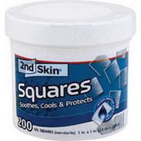 """2nd Skin Gel Squares 1"""" x 1"""""""