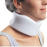 "Contoured Cervical Collar, 3"", Large, Neck 14""18"""