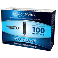 AgaMatrix Presto Test Strip (100 count)