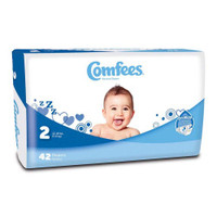 Comfees Baby Diapers - Size 2  48CMF2-Pack(age)