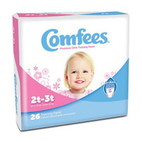 Comfees Girl Training Pants - Size 2T-3T  48CMFG2-Pack(age)