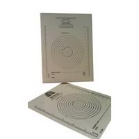 Bullseye Wound Measuring Guide  60MSC6252-Pack(age)