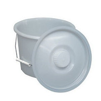 12 Quart Pail w/Lid And Wire Handles  641210-Pack(age)
