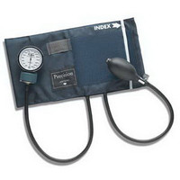 Adult PRECISION Aneroid Sphygmomanometers with Blue Nylon Cuff  6601140016-Each