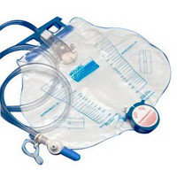 Curity Dover Anti-Reflux Drainage Bag 2,000 mL  686206-Each
