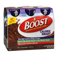 Boost Calorie Smart 8 oz., Rich Chocolate  8500041679477137-Each