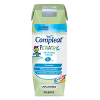 Compleat Pediatric Modified Tube Feeding Unflavored Food 8 oz.  85142400-Case