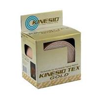 "Kinesio Tex Gold Wave Elastic Athletic Tape 1 x 5.4 yds., Beige  FJ7550001-Pack(age)"""