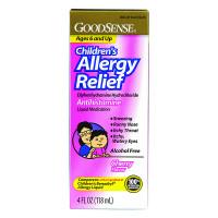 Children's Allergy Relief Liquid, 4 oz., Cherry  GDDLP13012-Each