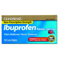 Ibuprofen Tablet, 200 mg (100 Count)  GDDLP13996-Box