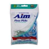 Dental Flossers with Pick, Mint (90 Count)  GDDUE00445-Pack(age)