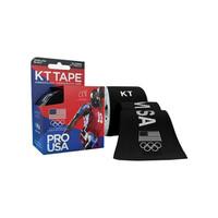 """KT Synthetic Tape Team USA Pro, 4 x 4"""", Black  KJ9020246-Box"""""""