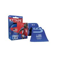 """KT Synthetic Tape Team USA Pro, 4 x 4"""", Blue  KJ9020253-Box"""""""