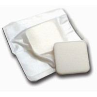 Adhesive Bordered Foam Dressing 4 Round  QCMP00501-Case""