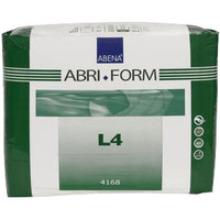"Abri Form Comfort Extra Plus Brief, Large, 39 - 59""  RB4168-Pack(age)"""