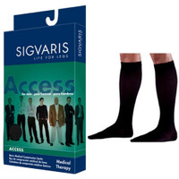 Access Calf, 20-30, Extra Large, Long, Closed, Black  SG922CXLM99-Pack(age)