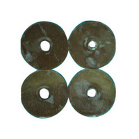"Atlantic Karaya Gum Washers, 2 Out, 3/4"" In, 12  TR0312-Pack(age)"""