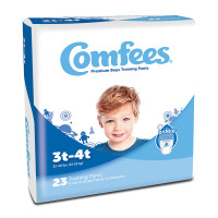 Comfees Boy Training Pants - Size 3T-4T  48CMFB3-Case