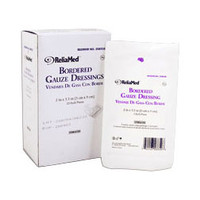 "ReliaMed Sterile Bordered Gauze Dressing 2"" x 3-1/2""  ZGB235-Each"