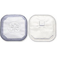 """Stoma Cap with Porous Cloth Tape Adhesive 2"""" Opening 4-1/4""""  503184-Box"""