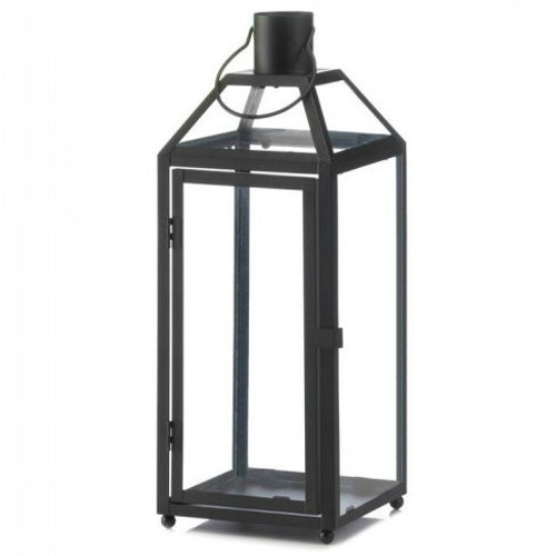 Classic Metal Candle Lantern - 16.5 inches