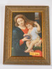 Madonna of the Grapes 6x9 Framed Print
