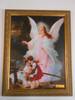 Angel on the Perilous Bridge 12x16 Framed Print