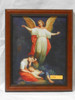 Guardian Angel with Children Resting 8x10 Simple Framed Print