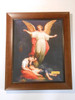 Guardian Angel with Children Resting 11x13 Framed Print