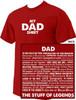 """My Dad Shirt"": The Stuff of Legends T-Shirt"