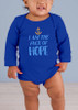 Face of Hope Long-Sleeve Baby Onesie