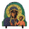 Our Lady of Czestochowa Arched Slate Tile