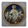 Bread of Angels Square Tumbled Stone Tile