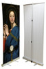 Madonna of the Host by Ingres Banner Stand