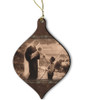 Gift of the Shepherd Wood Ornament
