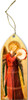 Fra Angelico Angel with Tambourine II Wood Ornament