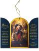 Mary Undoer of Knots Triptych Wood Ornament