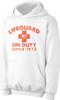 Lifeguard on Duty since 1973 2nds Quality Hoodie