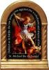St. Michael the Archangel Prayer Desk Shrine