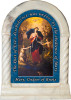 Mary, Undoer of Knots Prayer Desk Shrine