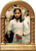 After The First Communion Desk Shrine