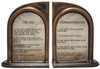 The Ten Commandments Bookends