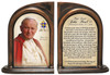 Commemorative Pope John Paul II Sainthood Quote Bookends