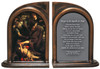 The Conversation of St. Paul by Caravaggio Bookends
