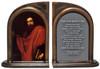"""De Saint Paul"" by Ribera Bookends"