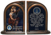 St. Christopher Air Force II Bookends