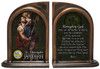 St. Christopher Army II Bookends
