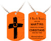 Orange Cross Project Martyr Solidarity Dog Tag