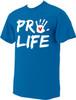 Pro-Life with Handprint NEON T-shirt